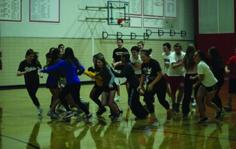 Tag, You're it: All P.E. leaders-in-training learn about the positive effects of cardiovascular endurance. Every day before the start of activities, they go through a warm-up to properly prepare themselves. Past warm-ups include duck, duck, goose; freeze tag; or drip, drip, drop.