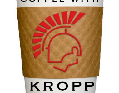 """""""Coffee with Kropp"""" brings parents and school officers together"""