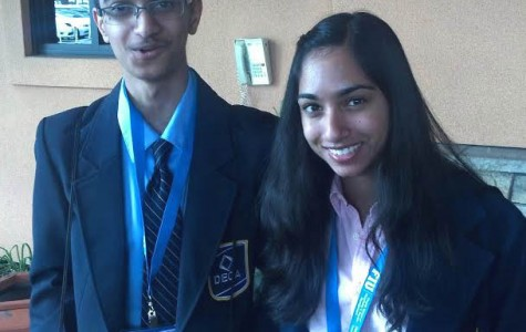 DHS twins advance to DECA international competition for third time
