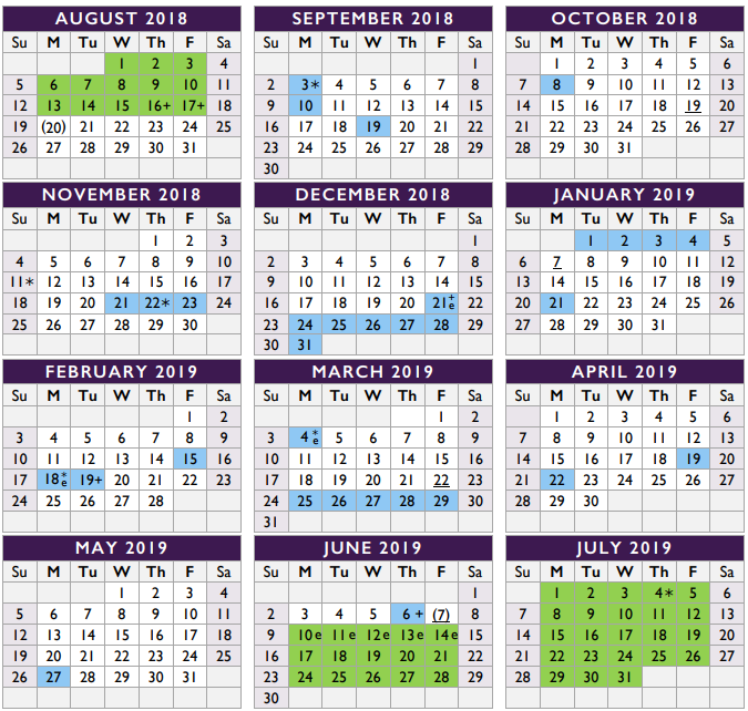 Calendar May Through August : An inside look at how the  district calendar was