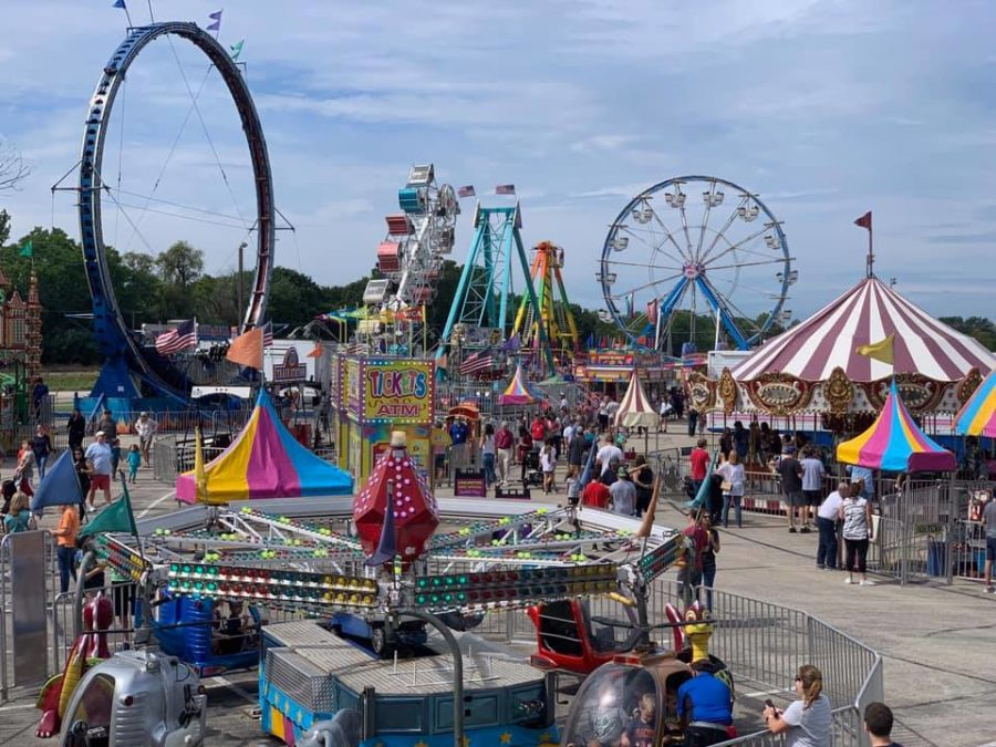 The carnival has been one way that DHS has worked to further involve the Deerfield community. (Image courtesy of DHS Facebook page.)